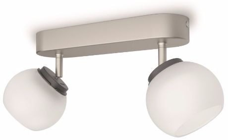 Philips Balla LED Deckenstrahler Chrom 2x4W - 53322/17/16
