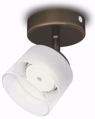 Philips Fremont LED Spotleuchte bronzen 1x4W - 53330/06/16
