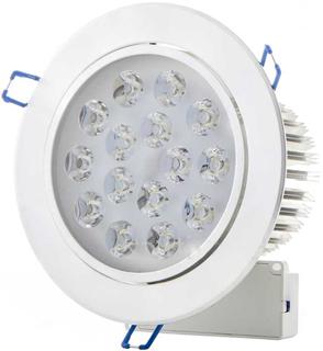 LED Einbaustrahler 15x 1W Kaltweiß
