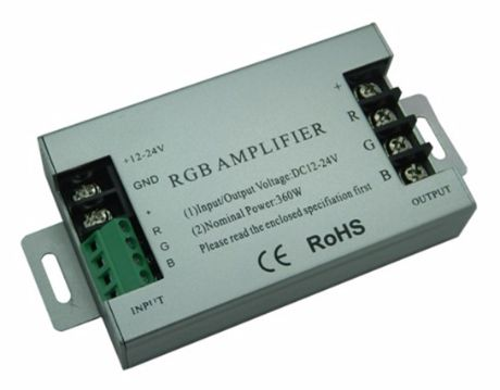 Dreikanal-Verstärker des RGB-Signals 12-24V 360W
