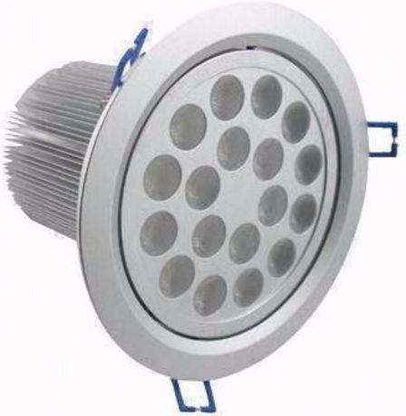 LED Einbaustrahler 18x 1W Tageslicht