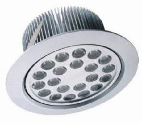 LED Einbaustrahler 24x 1W Tageslicht