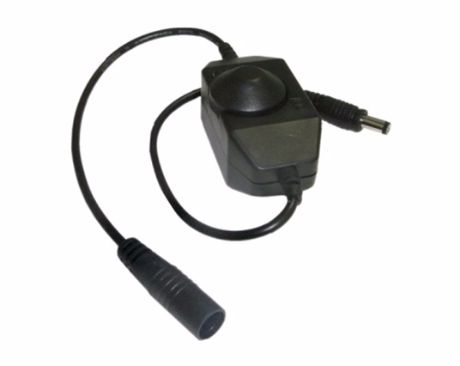 LED Dimmer ECO-MAN manuell Premium Line – schwarz 12V 8A (96W)