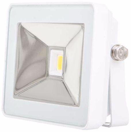 Weißer LED Fluter 10W SLIM Tageslicht