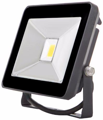 Schwarz LED Fluter 20W SLIM Tageslicht