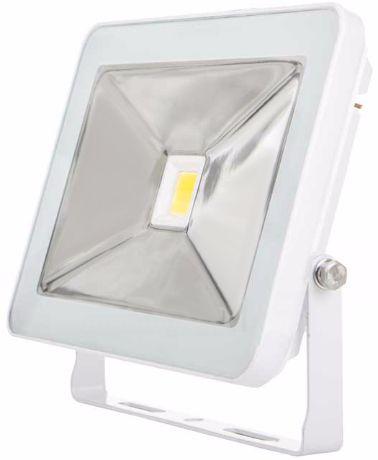 Weißer LED Fluter 30W SLIM Tageslicht