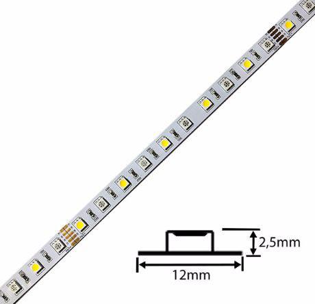 LED Streifen 14,4W/m RGBWW 24V