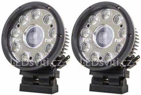 Runder LED Vorderstrahler Fernlicht 42W 12-36V