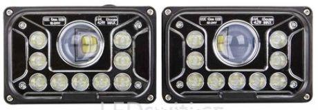 Eckiger LED Vorderstrahler Fernlicht 42W 12-36V