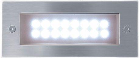 Eingebaute Außenleuchte LED 70 x 170mm Kaltweiß