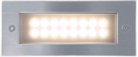 Eingebaute Außenleuchte LED 70 x 170mm Warmweiß