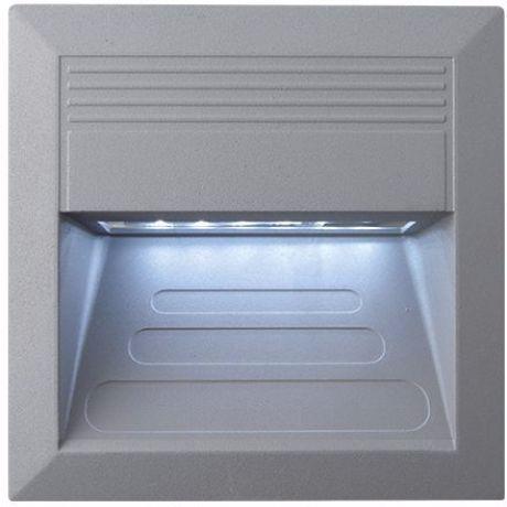 Eingebaute Außenleuchte LED 135 x 135mm Kaltweiß