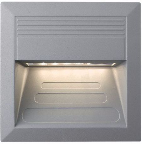 Eingebaute Außenleuchte LED 135 x 135mm Warmweiß