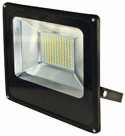 Schwarz LED Fluter 100W SMD Warmweiß