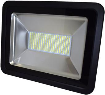 Schwarz LED Fluter 150W SMD Kaltweiß