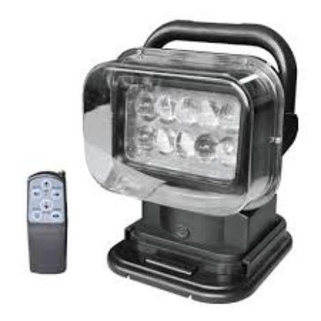 Verstellbarer LED Arbeitsscheinwerfer 50W 12V 360° mit Controller