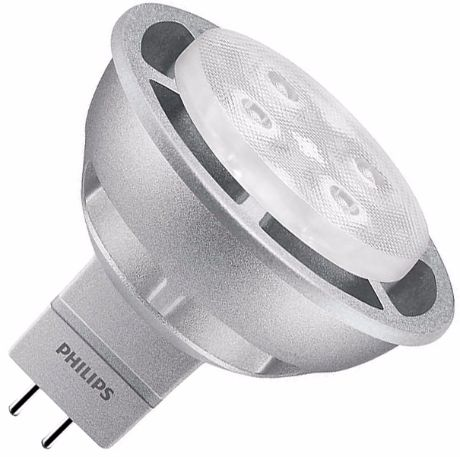 Philips dimmbare LED Lampe MR16 6,3W Warmweiß