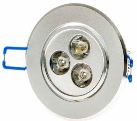 LED Einbaustrahler 3x 1W Kaltweiß