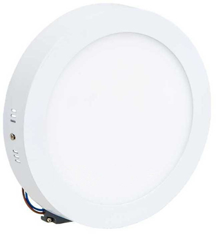 Weißes LED Aufbaupanel 225mm 18W Warmweiß