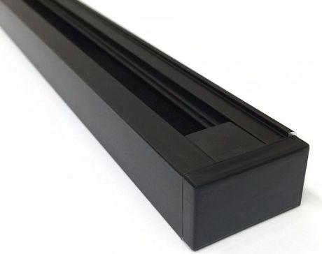 Schwarzes Schienensystem (TRACK01), Länge 1m