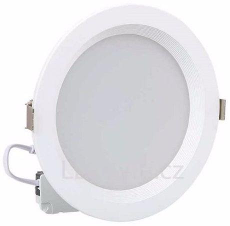 Runde LED Badleuchte 10W Warmweiß