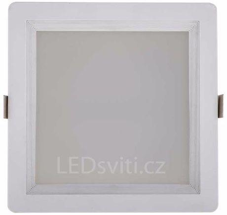 Eckige LED Badleuchte 10W Warmweiß