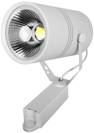 Weißer LED Schienenstrahler 30W Warmweiß