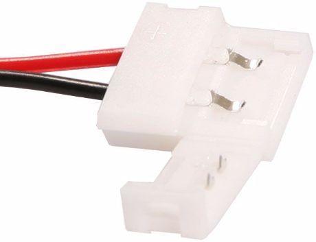 Steckverbinder + Kabel für LED Streifen 8mm