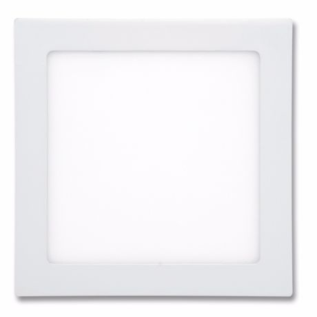 Weißes LED Einbaupanel 175 x 175mm 12W Warmweiß