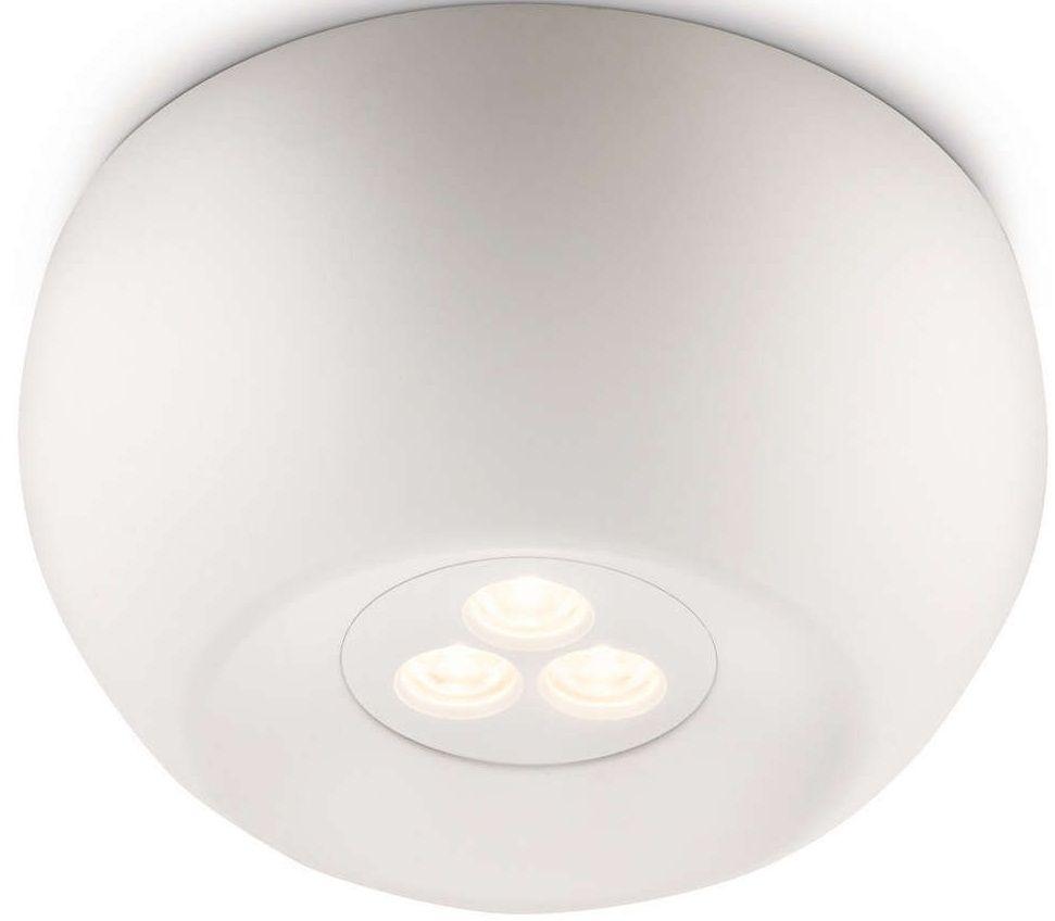 philips led deckenleuchte metall ledino white 1x6w 31610 31 16 gute. Black Bedroom Furniture Sets. Home Design Ideas