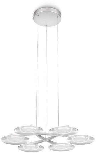philips led kristall pendelleuchte vaga 6x2 5w 40972 48. Black Bedroom Furniture Sets. Home Design Ideas