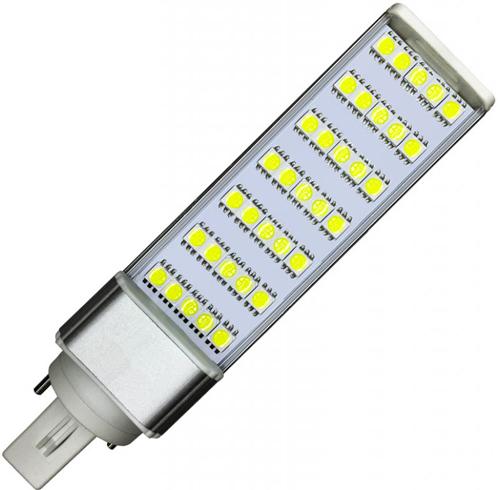 LED Lampe G24 8W Kaltweiß