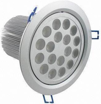 LED Einbaustrahler 18x 1W Warmweiß