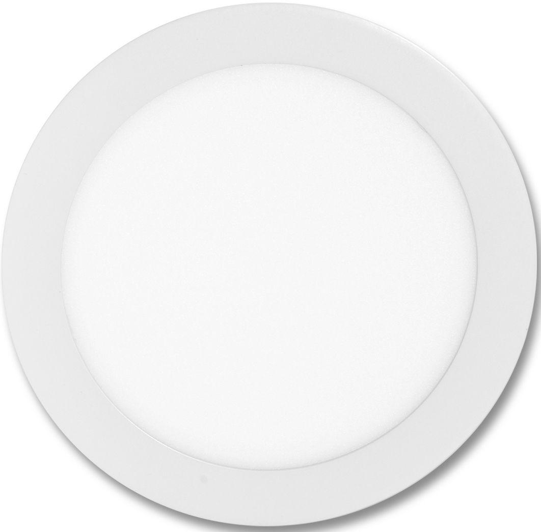 Weißes rundes LED Einbaupanel 225mm 18W Warmweiß