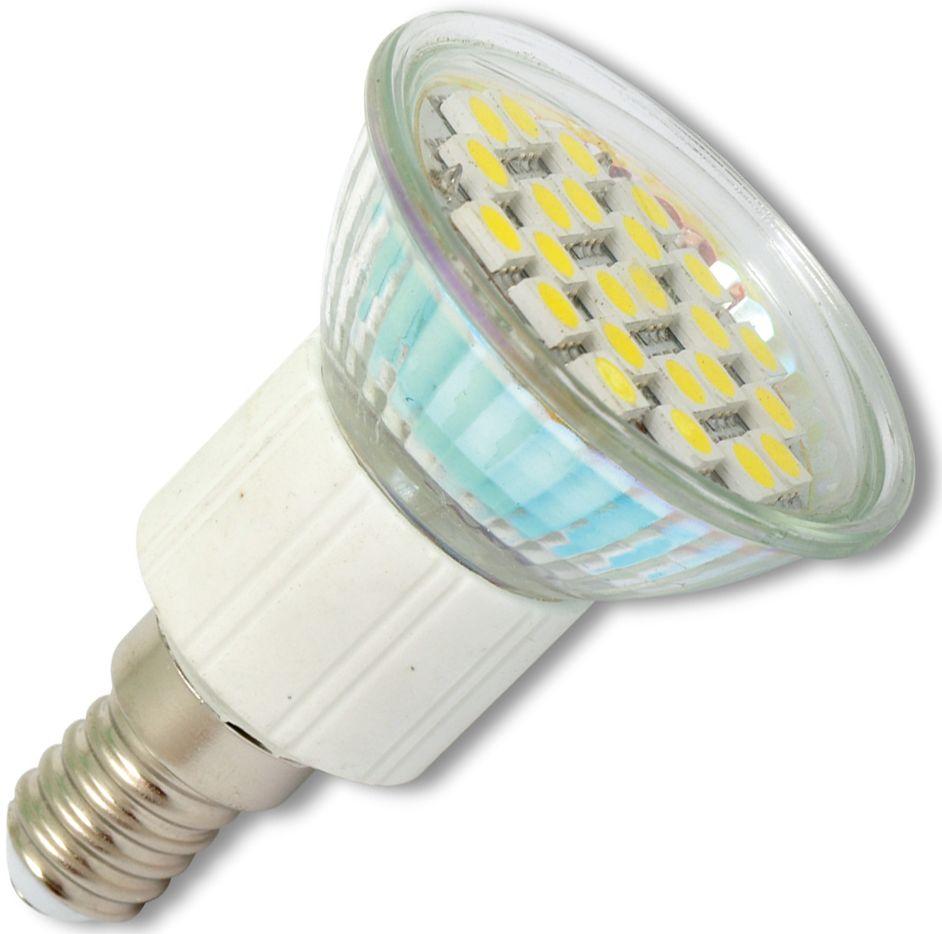 LED Lampe E14 4,4W JDR 24 SMD Tageslicht