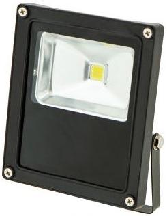 Schwarz LED Fluter 12V 10W Tageslicht