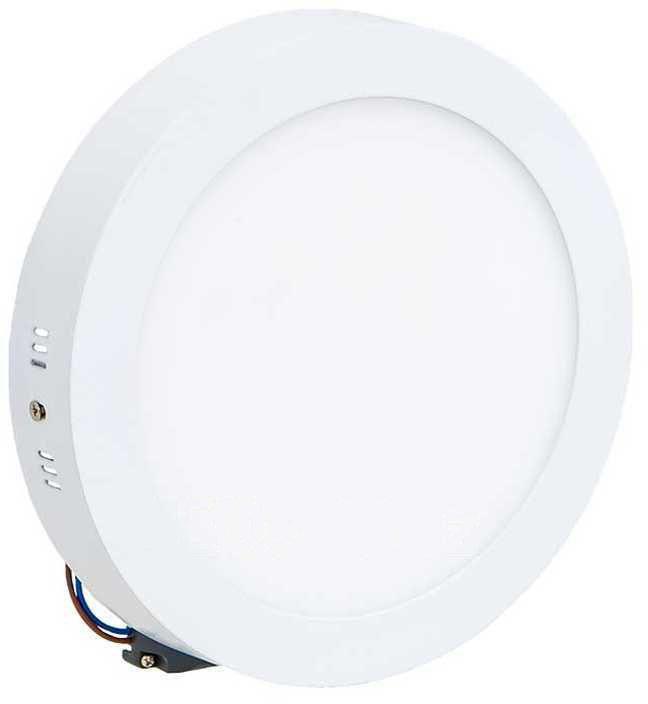 Weißes LED Aufbaupanel 175mm 12W Warmweiß