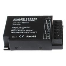 Silnější přijímač dimLED 069006 pro RGB LED 12–24V