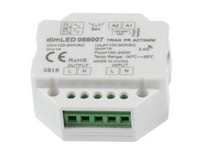 Přijímač dimLED s maximální zátěží 240 W 069007