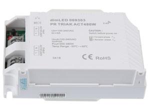 Přijímač dimLED s maximální zátěží 480 W 069303