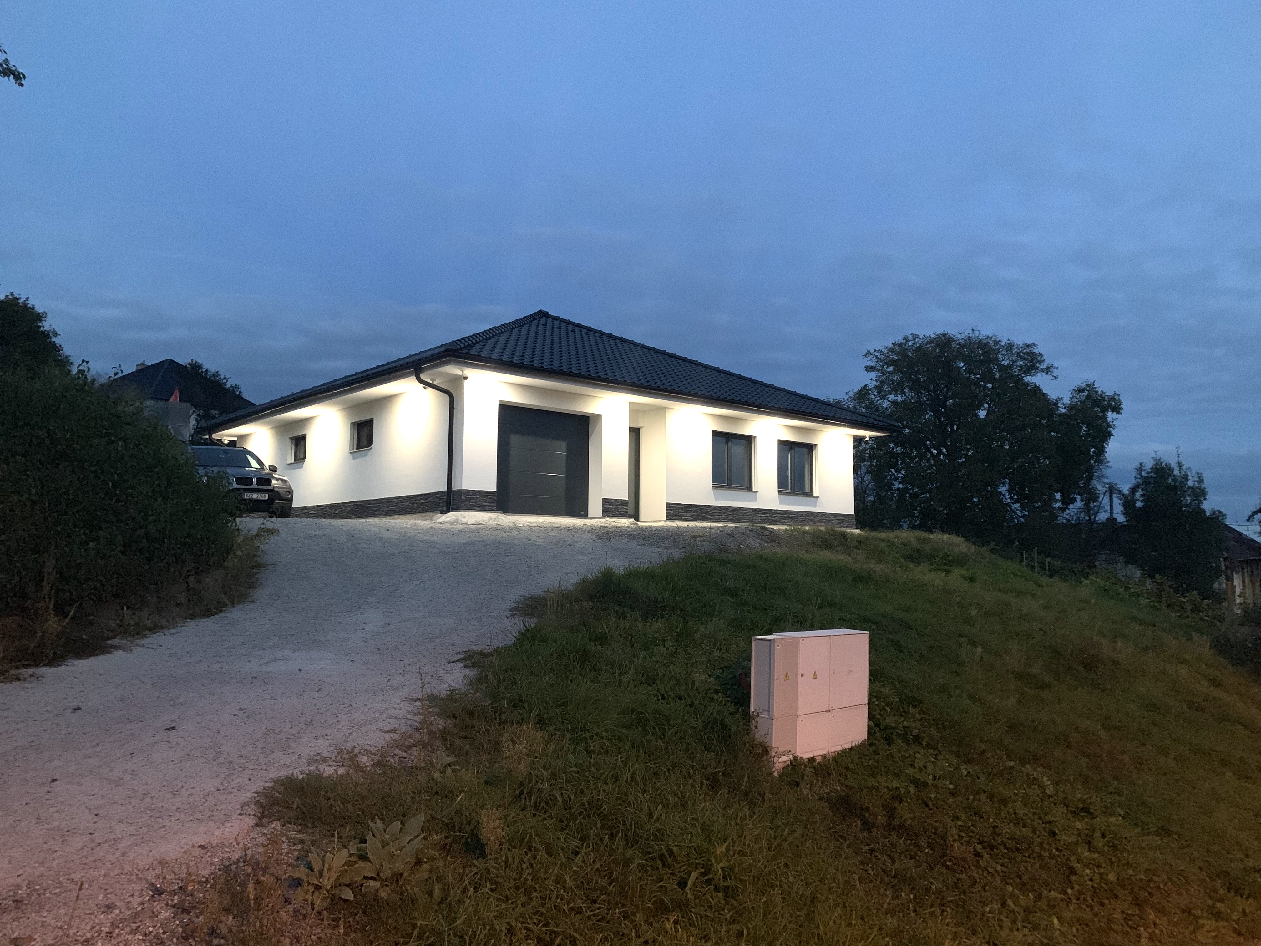 Osvětlení domu Zlín 1