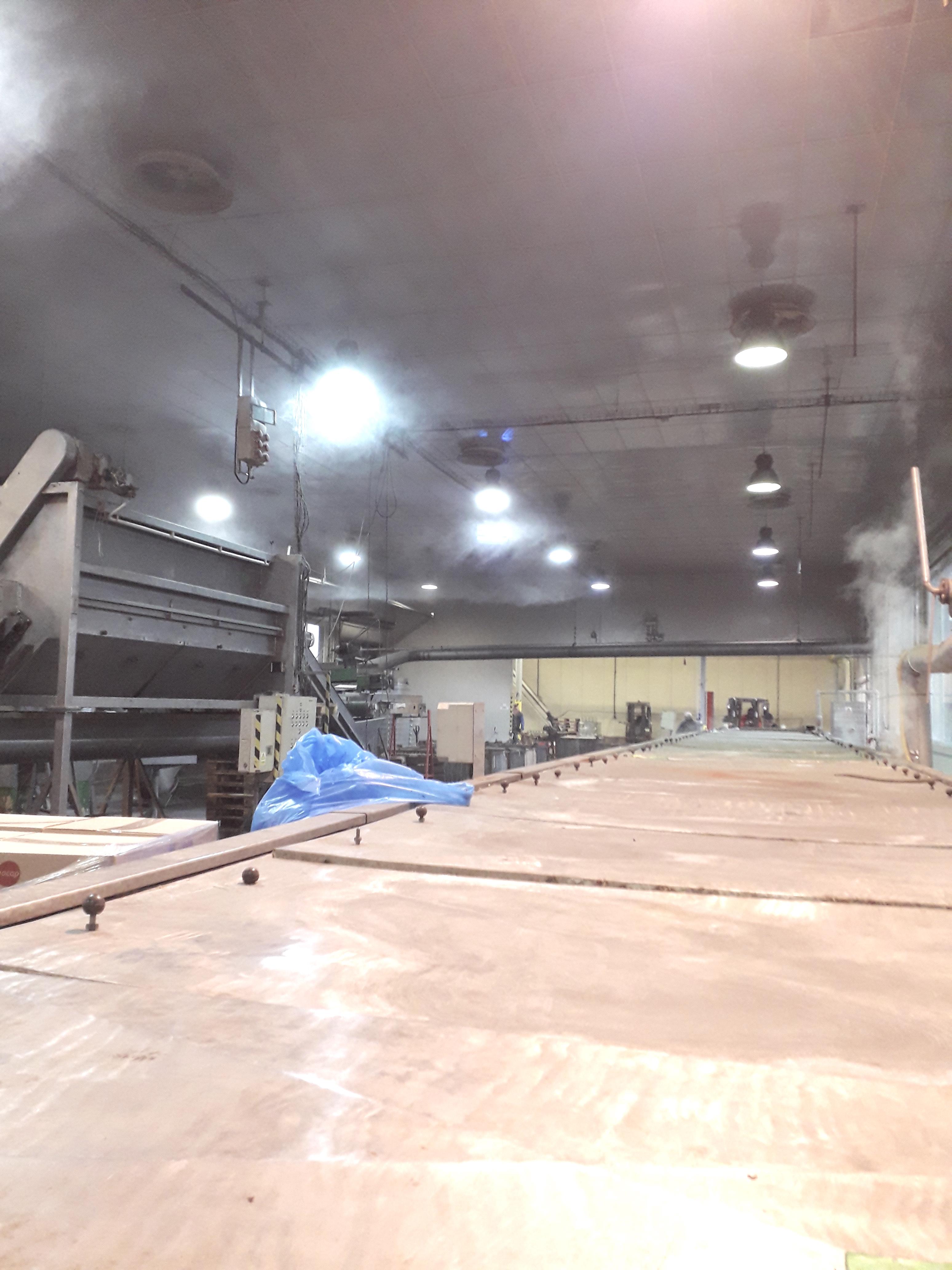 LED osvětlení Průmyslová hala Terezín 2