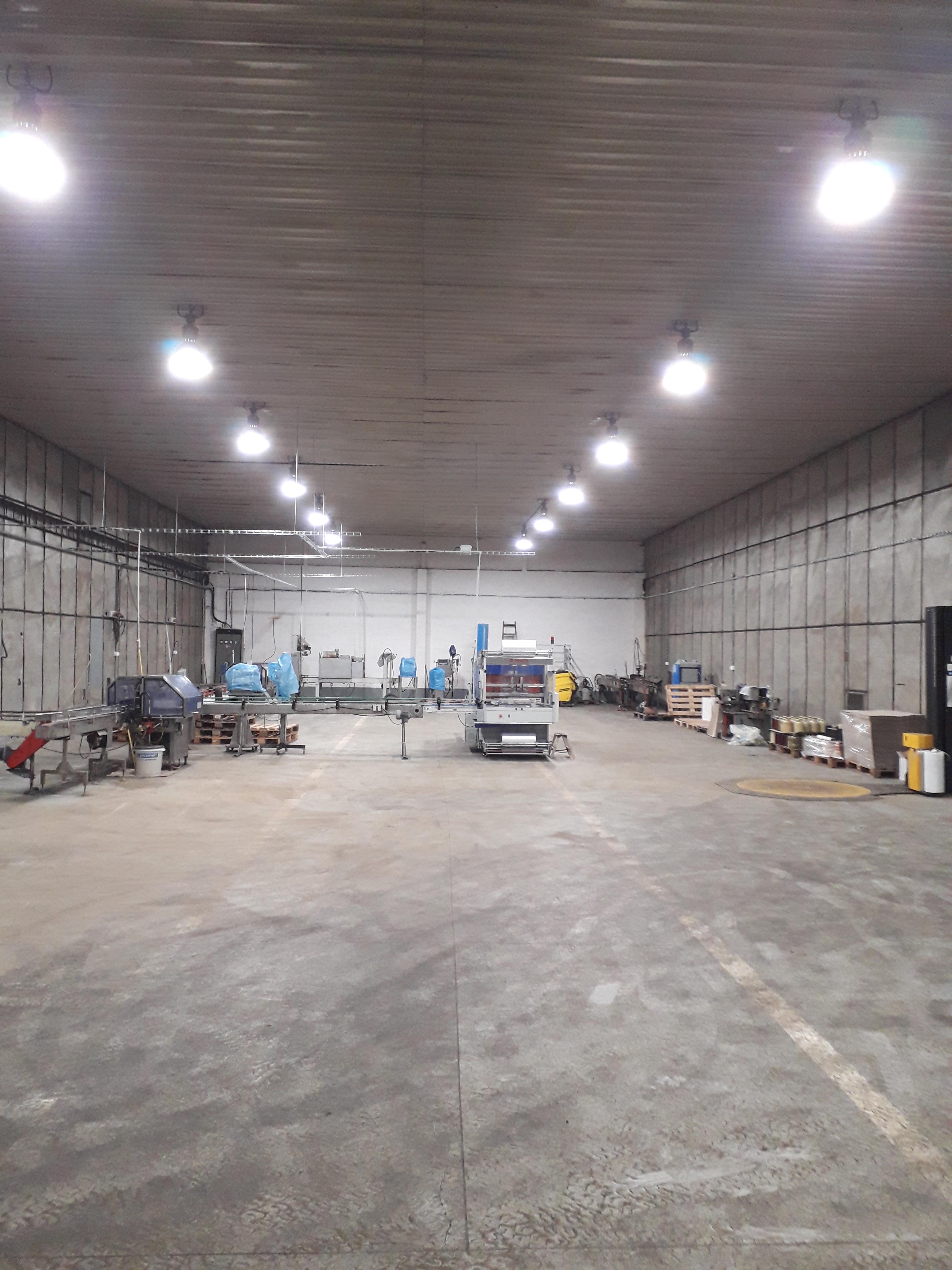 LED osvětlení Průmyslová hala Terezín 3