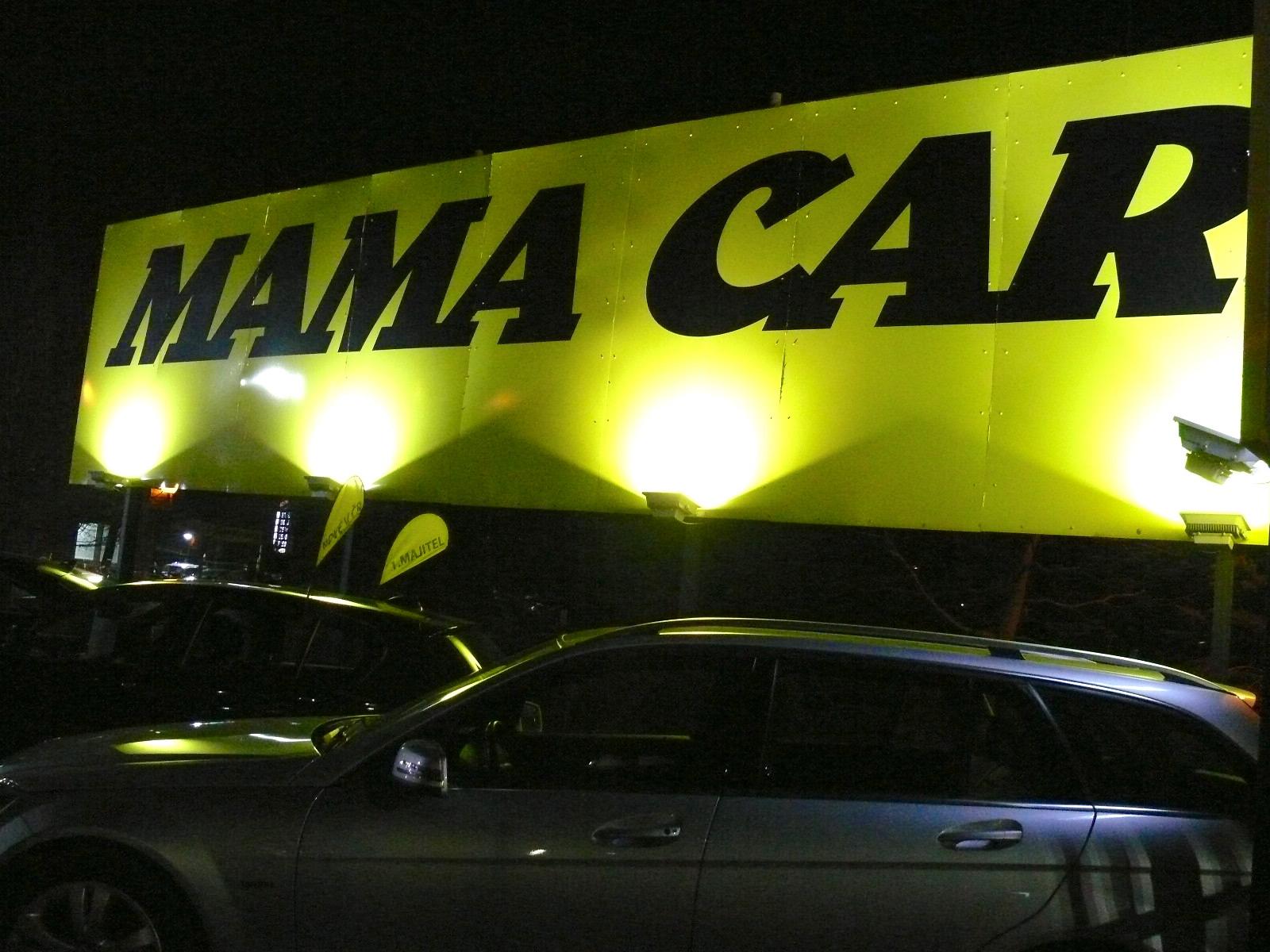 LED osvětlení Mamacar Praha 2
