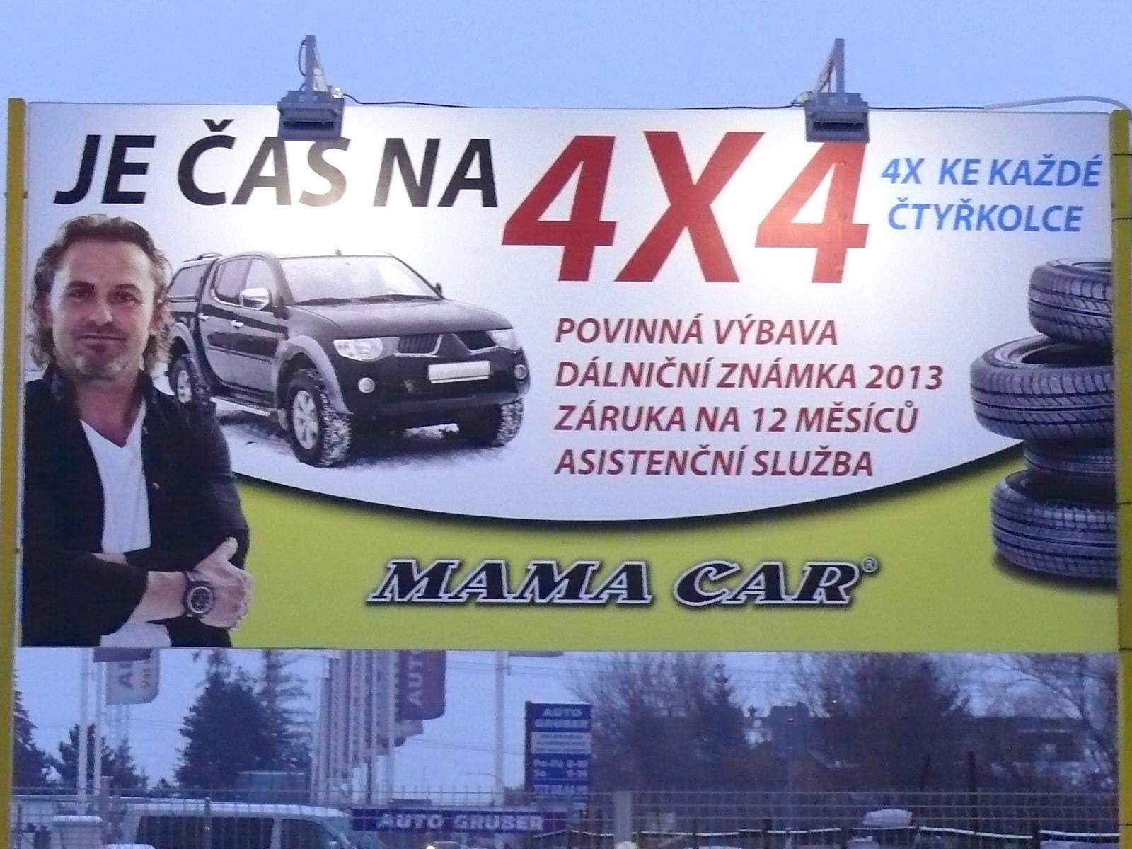 LED osvětlení Mamacar Praha 7