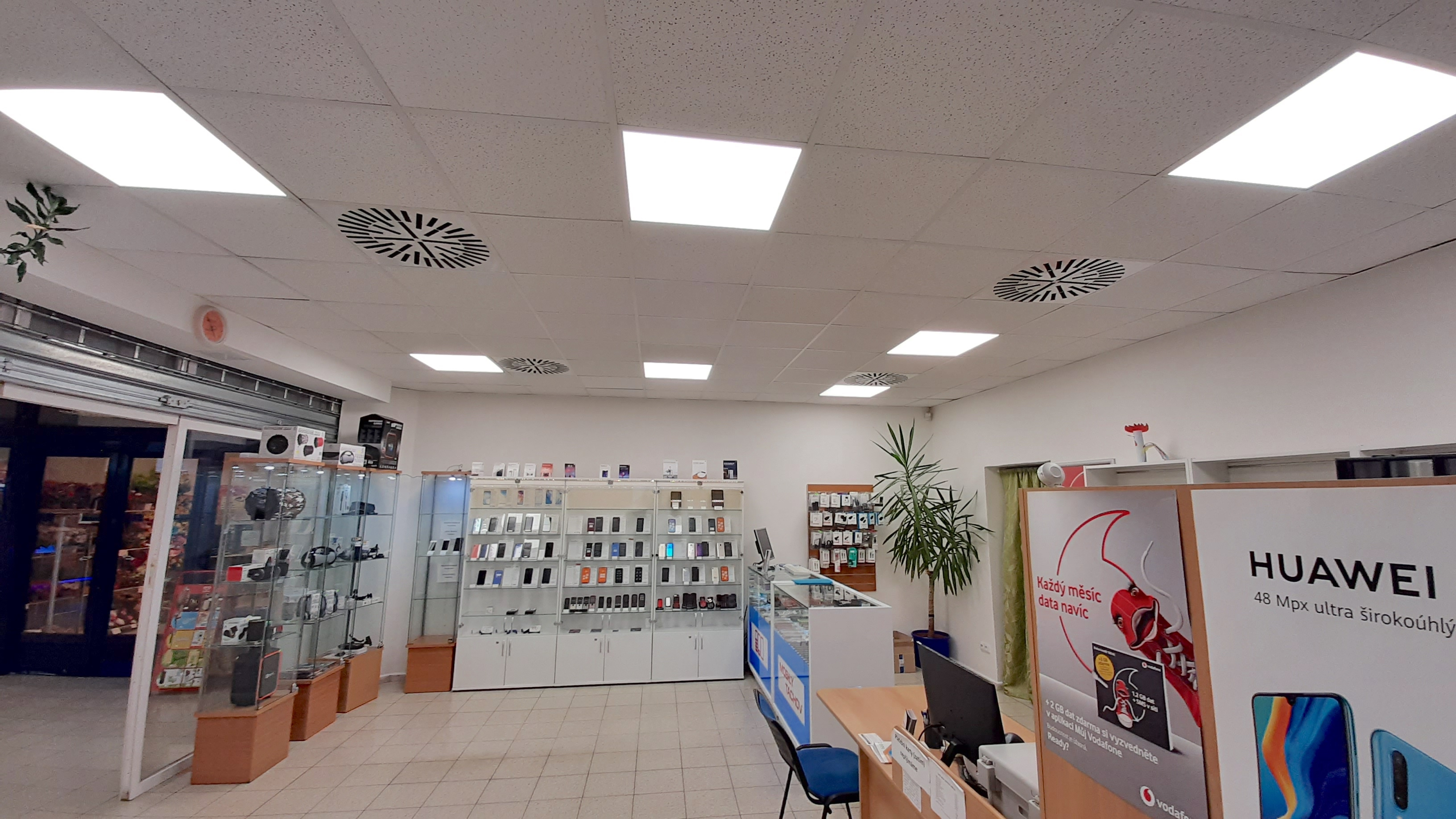 LED osvětlení Prodejna Tachov 1