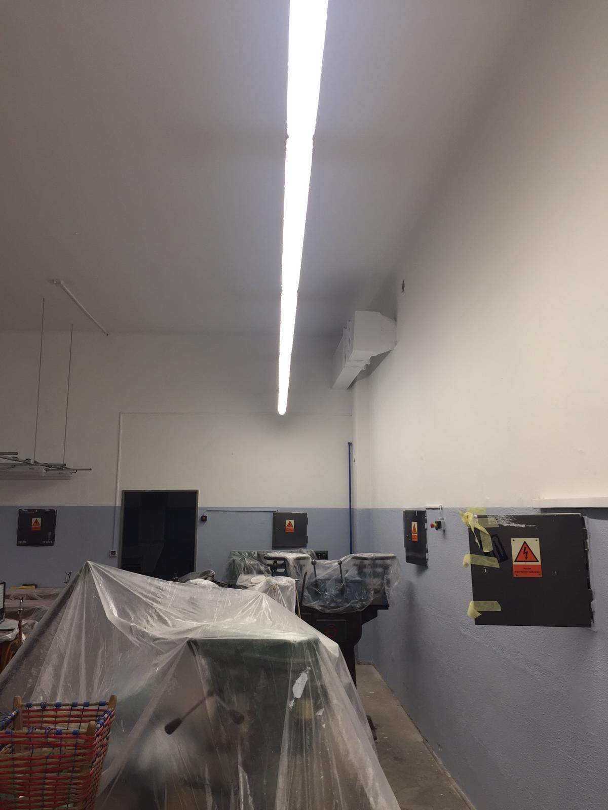 Střední průmyslová škola v Jablonci nad Nisou, LED zářivková svítidla 2