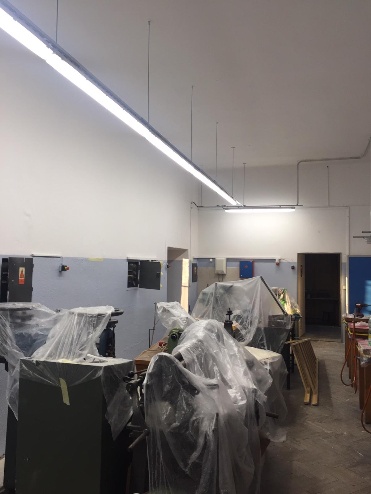 Střední průmyslová škola v Jablonci nad Nisou, LED zářivková svítidla 3