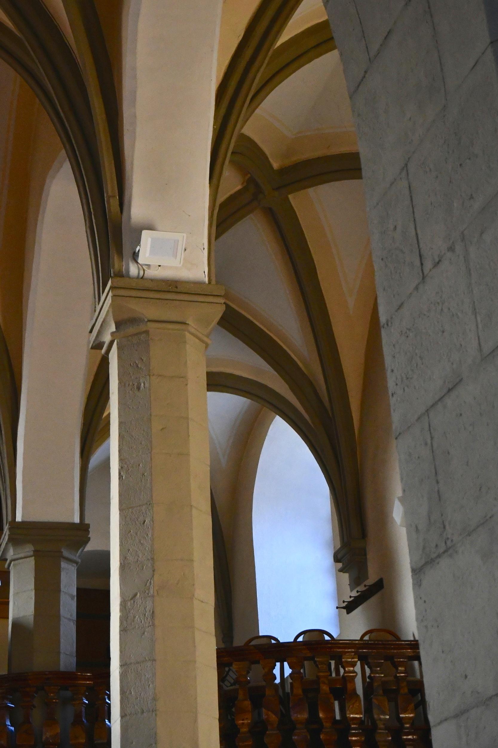 LED osvětlení Reflektory kostel Přibor 2