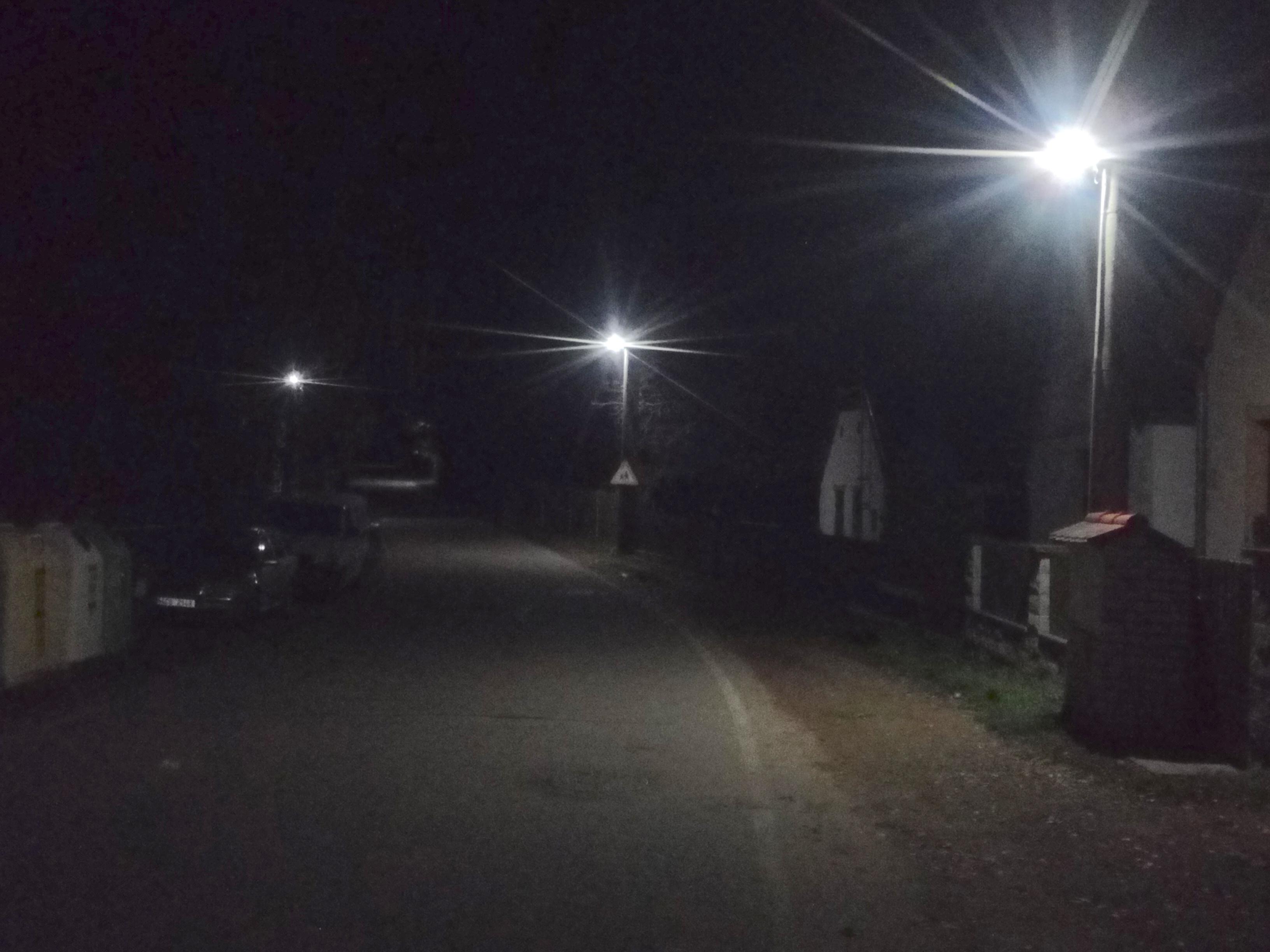 LED osvětlení Veřejné Zvíkovské Podhradí 1
